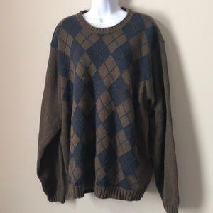 Vintage Oversized Slouchy Chunky Knit Sweater XL